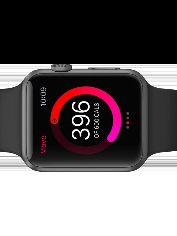Apple Watch Series 4 (GPS, 38mm) Black 2