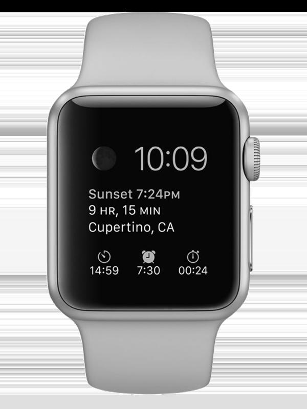 Apple Watch Series 4 (GPS, 38mm) Black 1